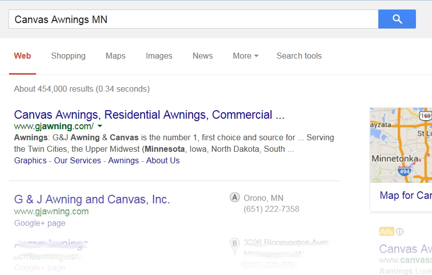 SEO for Minneapolis, St. Paul and the Twin Cities, MN
